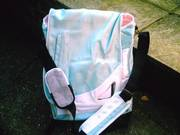 stylish rucksack/laptop/shoulder bag in one