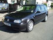 VW Golf Estate Car 1.9 TDI SE model