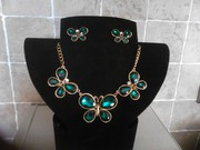 STUNNING NECKLACE&EARRINGS